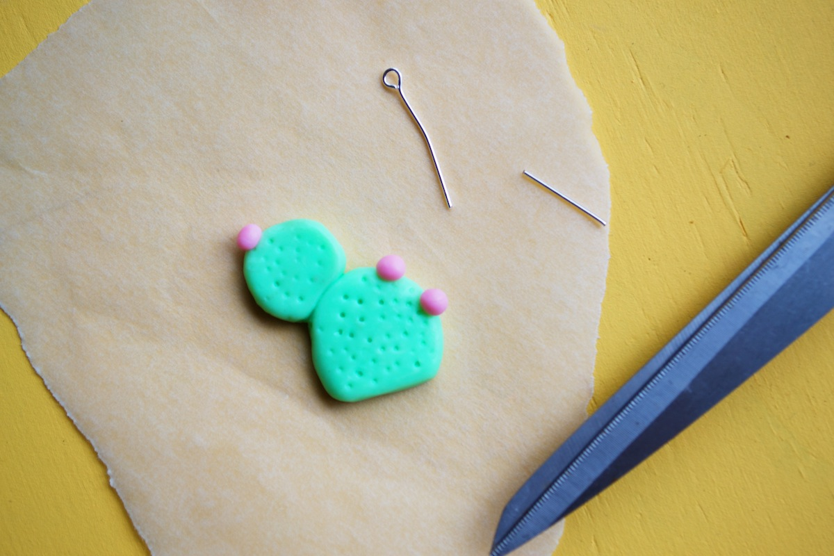 DIY Polymer Clay Jewellery tutorial - Patchwork Cactus Blog.JPG