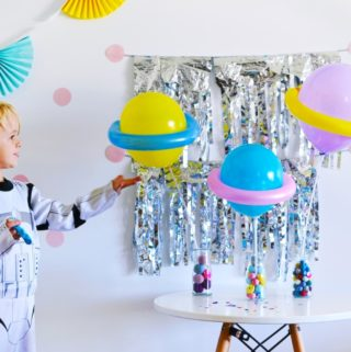 DIY Balloon Planets